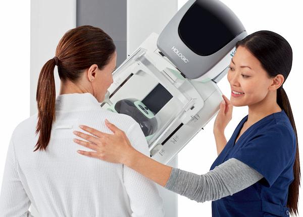آزمایش ماموگرافی