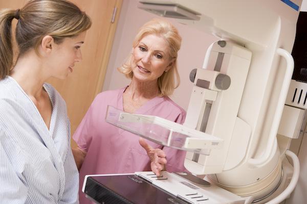 آماده شدن برای ماموگرافی