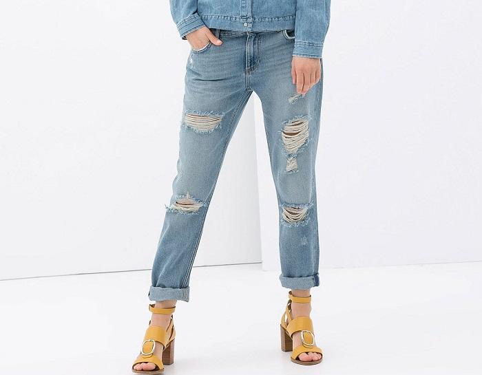 اجتناب از شلوار جین کم.