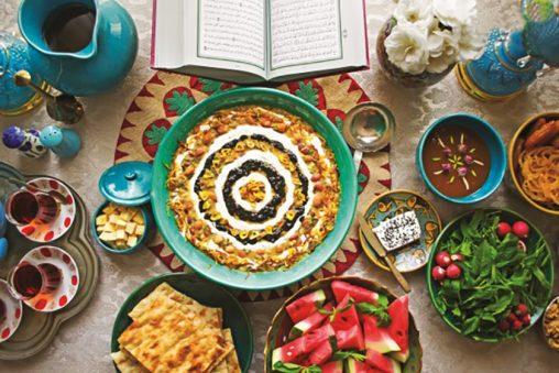 غذاهای مخصوص افطار در ماه رمضان