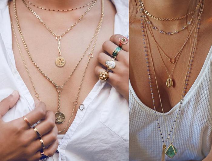 به طلا و جواهر توجه کنید.