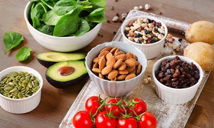 سبزیجات تازه تغذیه قبل از بارداری
