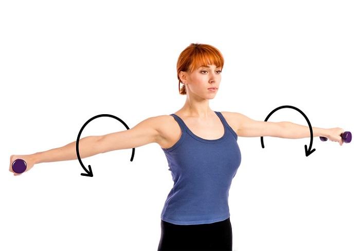 تقویت بازوها و ران ها