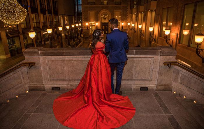 جذب مردان به لباس قرمز