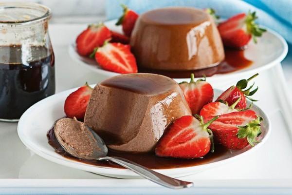 دسر پاناکوتا شکلاتی