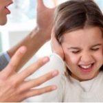 دعوا در مقابل چشمان فرزندان خود