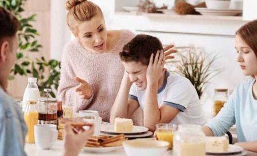 کم کردن دعواهای خانوادگی