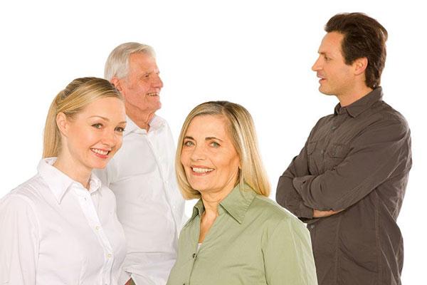 رابطه اصولی با خانواده ی همسر