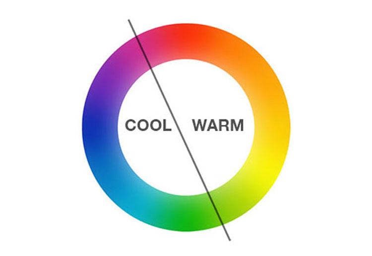 رنگ های سرد و گرم