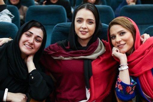 سحر دولتشاهی و دوستان بازیگرش