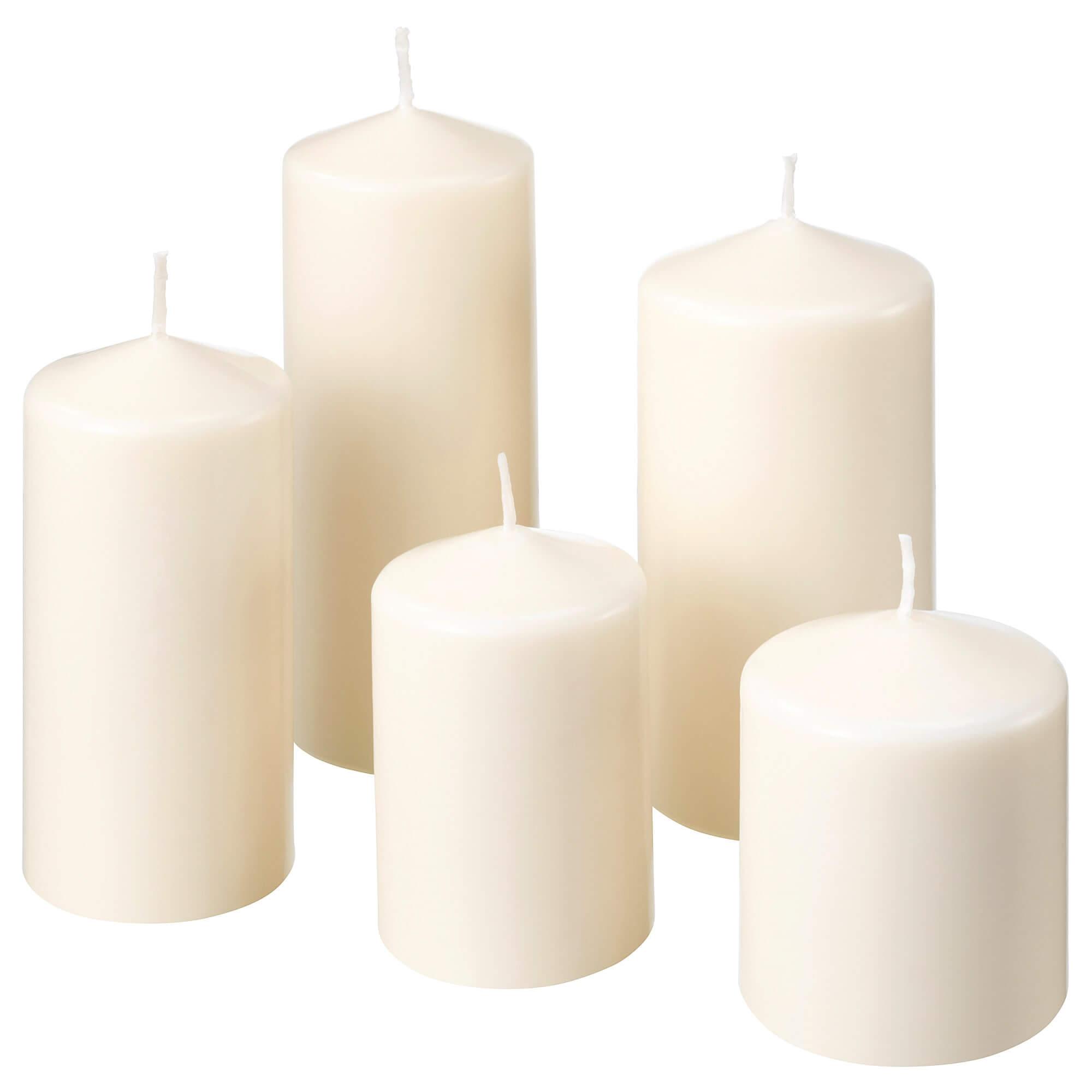 شمع ساده به تعداد دلخواه