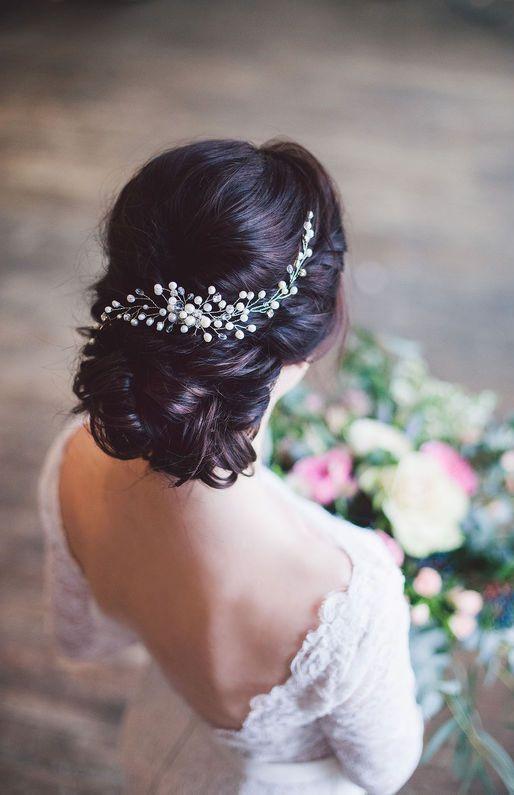 شینیون های ساده و زیبای عروس