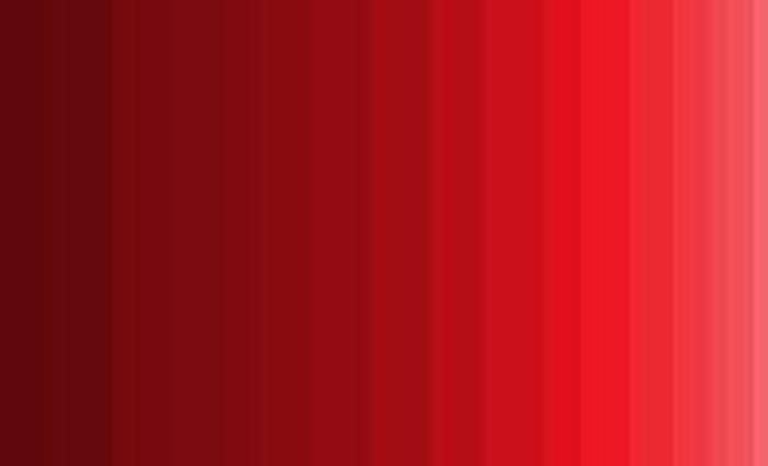 طیف های رنگ قرمز