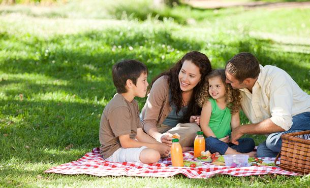 عشق به طبیعت و خانواده