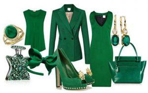 لباس سبز