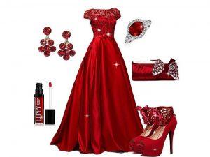 لوازم و جواهرات قرمز