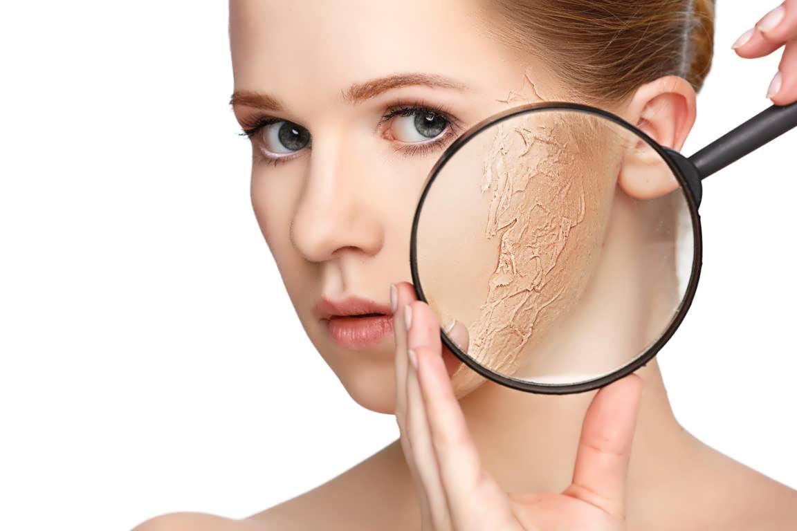 ماسک های های طبیعی درمان خشکی پوست