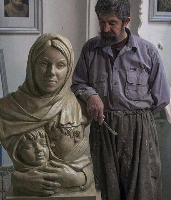مجسمه نرگس کلباسی