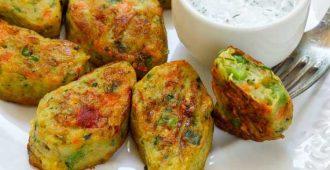 طرز تهیه ی کباب سبزیجات رژیمی