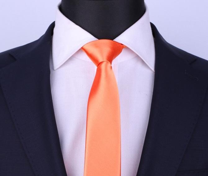 کروات نارنجی