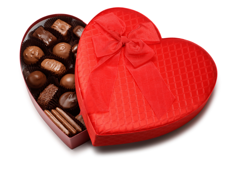 Learning to build chocolate for Valentine