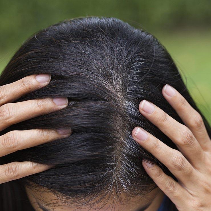 رنگ مو برای پوشاندن سفیدی